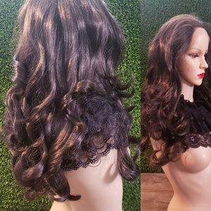 Dark Brown Color 🆕️ Brand New Lace Front Wig ❤